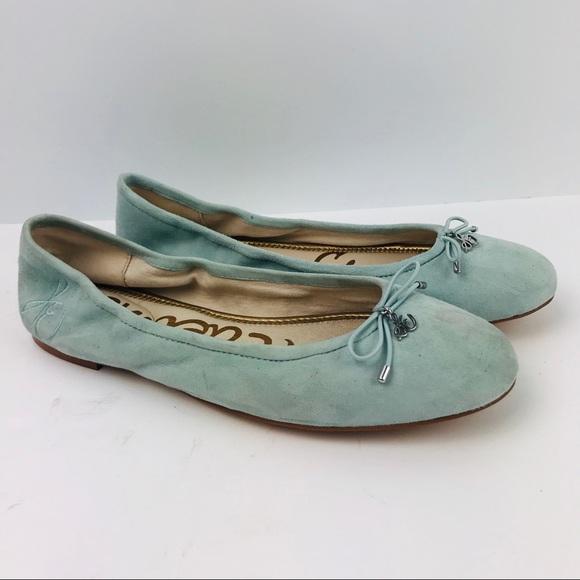 9971a05a7d997e Sam Edelman Felicia Light Blue Ballet Flat Shoes